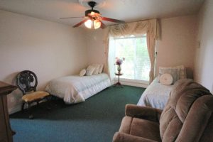 Sunshine Seniors Bedroom with Twin Beds