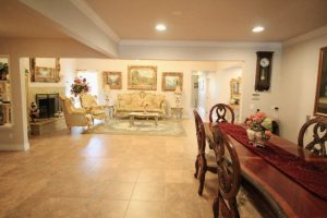 Sunshine Senior Home Tour Dining Room to Sitting Room